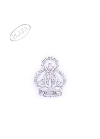 Pin Virgen de la Cabeza plata