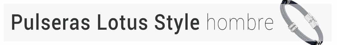 pulseras lotus style hombre